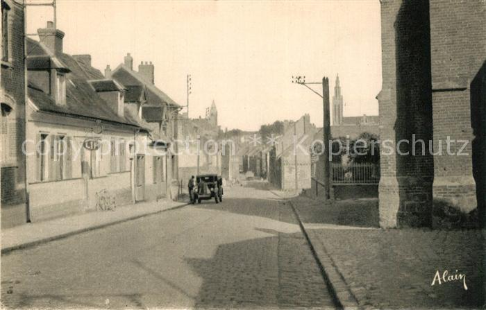 Roye_Somme Rue Saint Gilles Roye_Somme