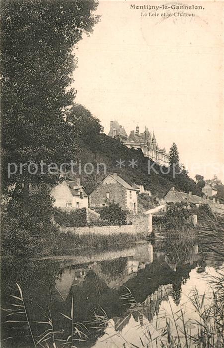 Montigny le Gannelon Le Loir et le Chateau Montigny le Gannelon