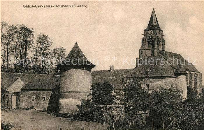 Saint Cyr sous Dourdan Eglise Saint Cyr sous Dourdan