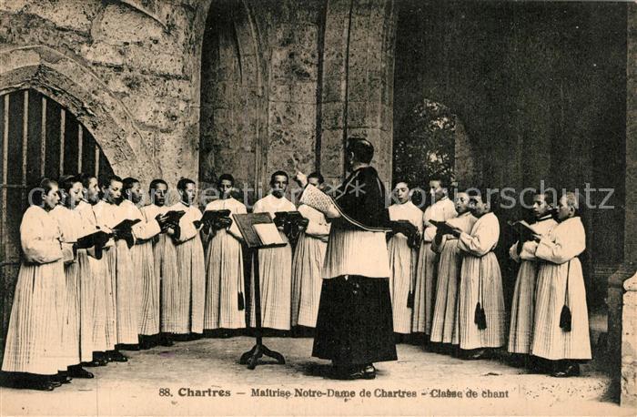 Chartres_Eure_et_Loir Maltrise Notre Dame de Chartres Classe de chant Chartres_Eure_et_Loir
