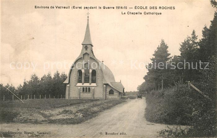 Verneuil sur Avre Ecole des Roches La Chapelle Catholique Verneuil sur Avre