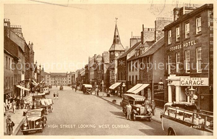 Dunbar High Street looking West