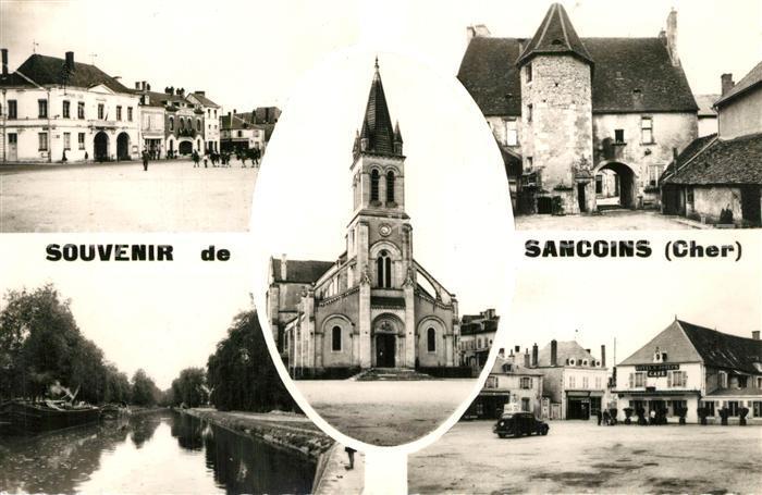 Sancoins Vue partielle Eglise Sancoins