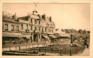 Deauville Place de la Gare vers Trouville Deauville