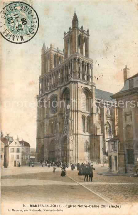 Mantes la Jolie Eglise Notre Dame Mantes la Jolie