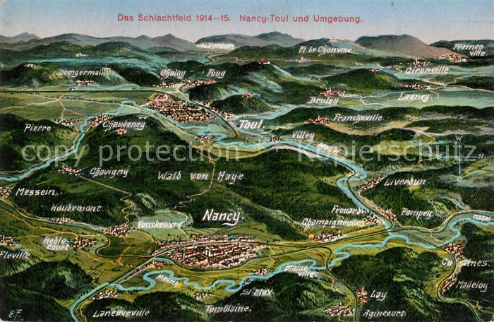 Toul_Meurthe et Moselle_Lothringen Schlachtfeld 1914 15 Nancy Toul und Umgebung Toul_Meurthe et Moselle