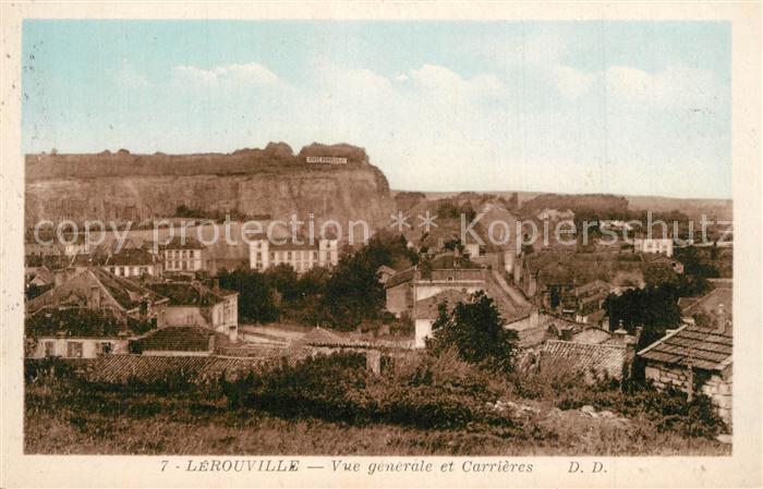 Lerouville Vue generale et Carrieres Lerouville