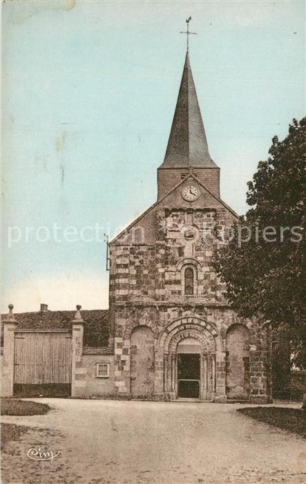 Vornay Eglise Vornay