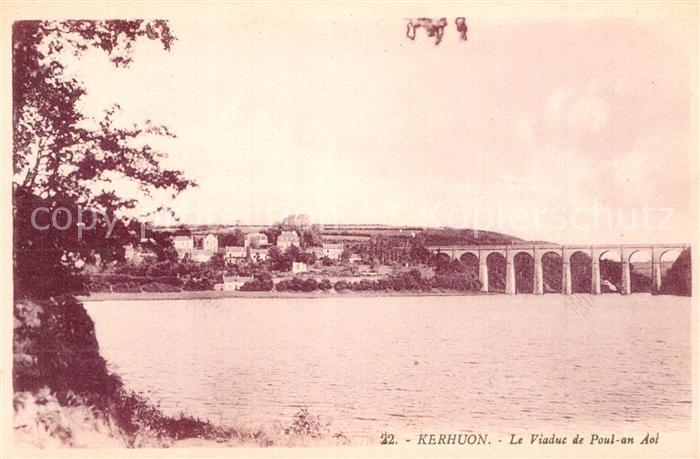 Kerhuon Le Viaduc de Poul an Aot