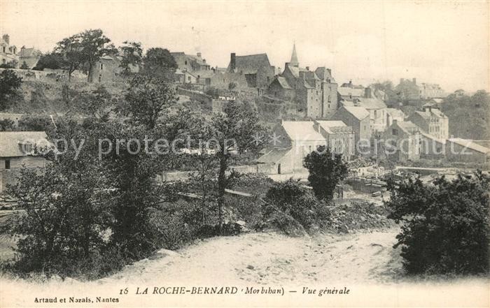 La_Roche Bernard Vue generale La_Roche Bernard