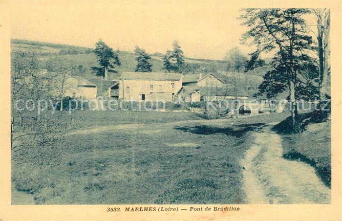Marlhes Pont de Brodillon Marlhes