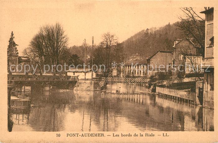 Pont Audemer Les bords de la Risle Pont Audemer