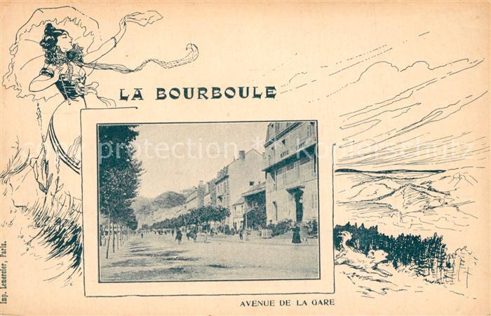 La_Bourboule Avenue de la Gare La_Bourboule