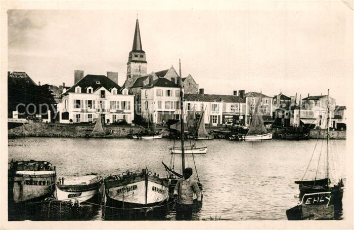 Saint Gilles sur Vie_Vendee Le Port Saint Gilles sur Vie