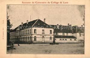 Lure_Haute Saone Souvenir du Centenaire du College de Lure Lure Haute Saone