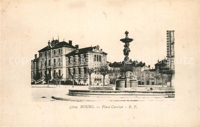 Bourg_Blaye Place Carriat Bourg_Blaye