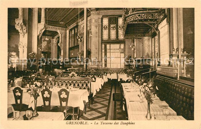 Grenoble La Taverne des Dauphins Grenoble