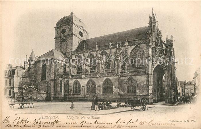 Alencon Eglise Notre Dame Alencon