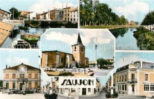 Saujon Port de Riberau La Seudre Hotel de Ville la Poste Au Centre Eglise Saujon