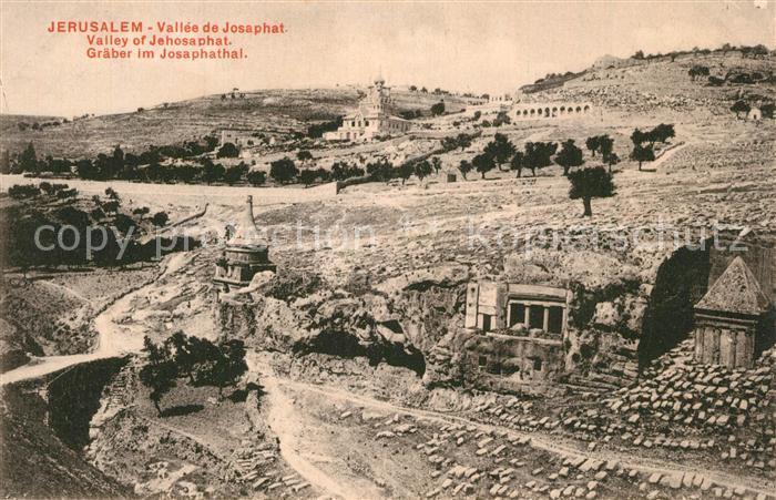 Jerusalem_Yerushalayim Graeber im Josaphathal Jerusalem_Yerushalayim