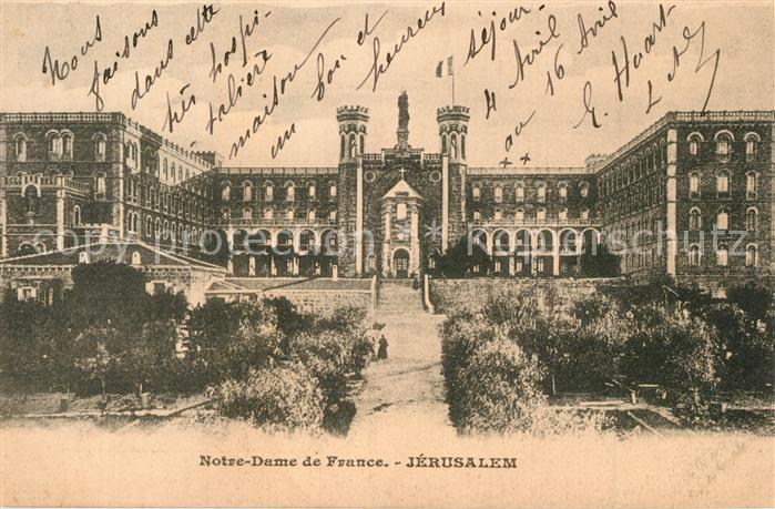 Jerusalem_Yerushalayim Notre Dame de France Jerusalem_Yerushalayim