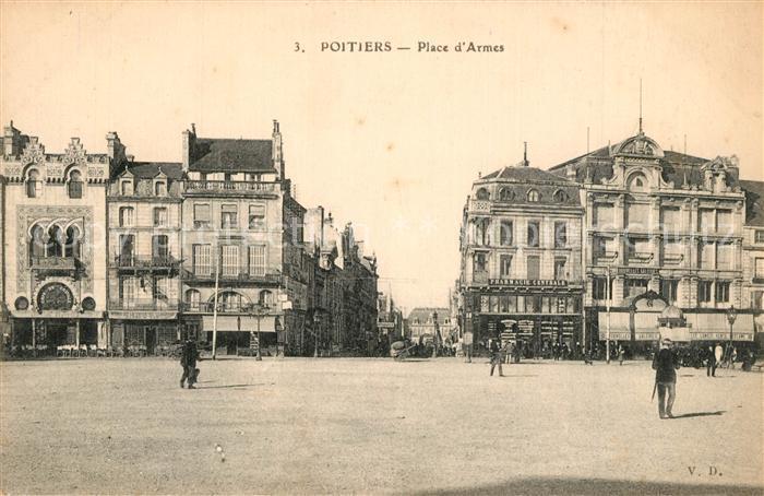 Poitiers_Vienne Place d Armes Poitiers Vienne