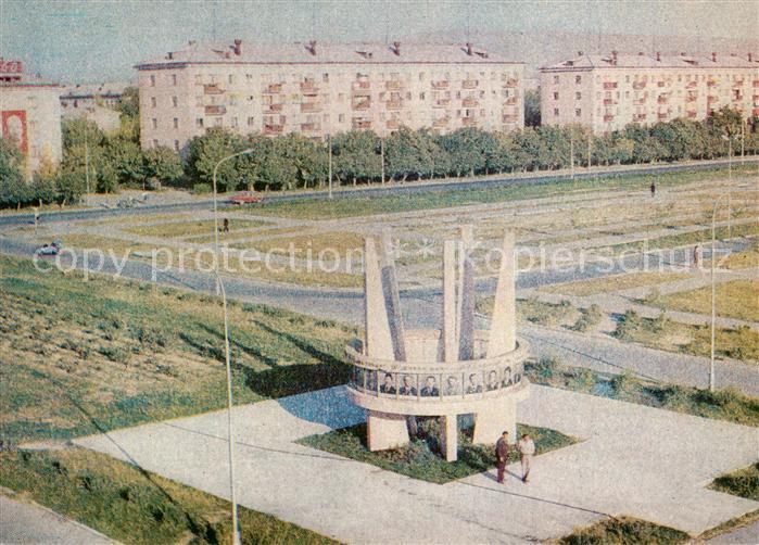 Kentau Prospekt 50 Jahre Oktoberrevolution