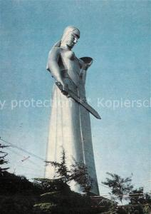 Tbilisi Berg Narikala Manument der M?tter Tbilisi