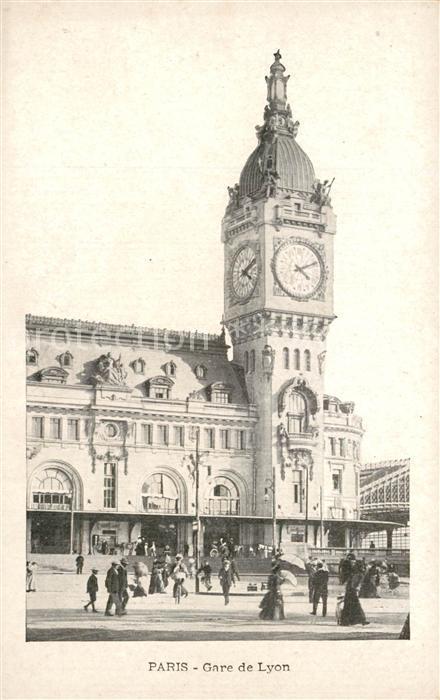 Paris Gare de Lyon Bahnhof Paris