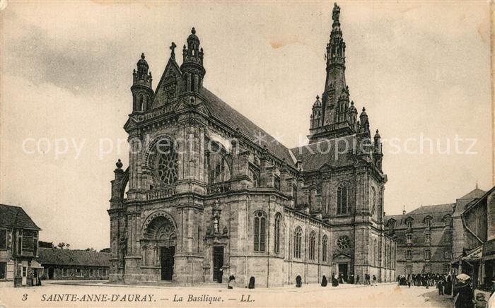 Sainte Anne d_Auray La Basilique Sainte Anne d Auray