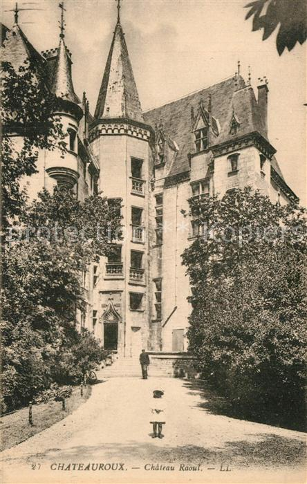 Chateauroux_Indre Chateau Raoul Chateauroux Indre