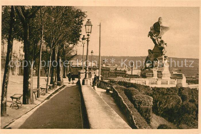 Angouleme Rempart Desaix et Statue Carnot Monument Angouleme