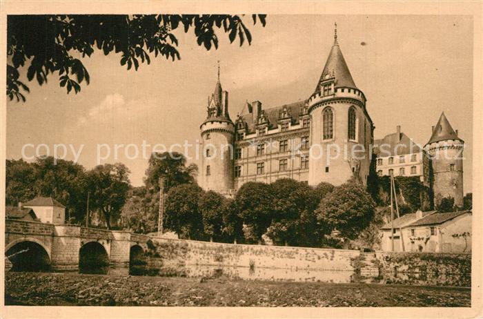 La_Rochefoucauld Chateau et Tardoire Pont La_Rochefoucauld