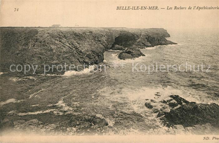 Belle Ile en Mer Les Rochers de l Apothicairerie Belle Ile en Mer