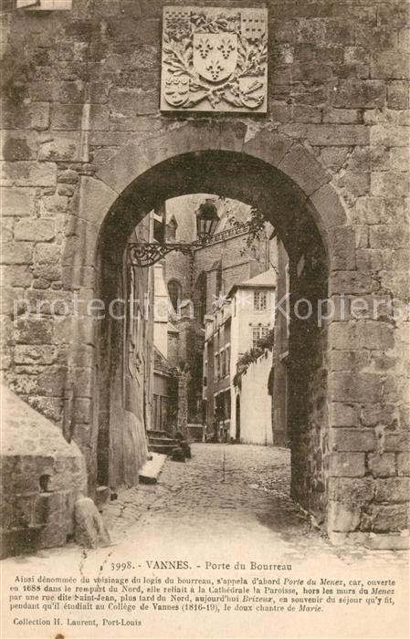 Vannes Porte du Bourreau Vannes