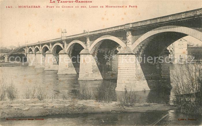 Montauban_Tarn et Garonne Pont du Chemin de Fer
