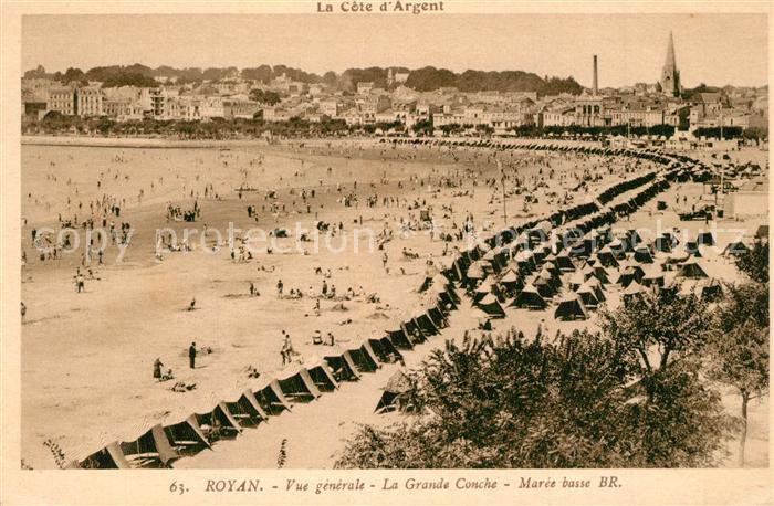 Royan_Charente Maritime Grande Conche  Royan Charente Maritime