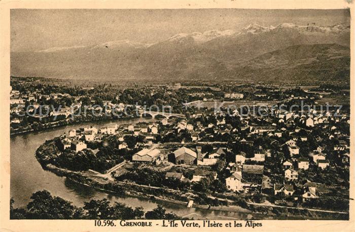 Grenoble Ile Verte Isere  Grenoble