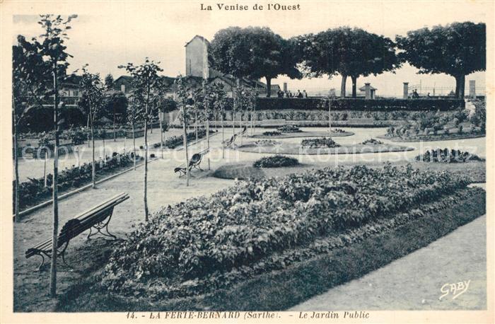 La_Ferte Bernard Jardin Public La_Ferte Bernard