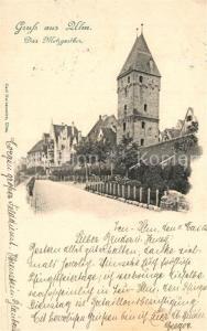 Ulm_Donau Metzgertor  Ulm_Donau