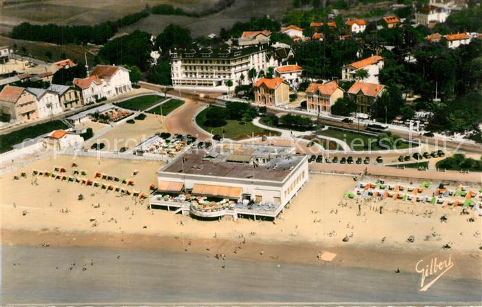 Pontaillac La Plage le Sporting Vue aerienne Pontaillac