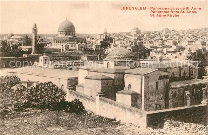 Jerusalem_Yerushalayim St Anne Kirche Jerusalem_Yerushalayim