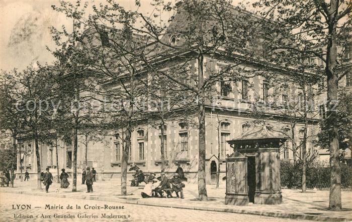 Lyon_France Mairie de la Croix Rousse Lyon France