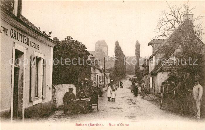 Ballon_Sarthe Rue d Orne Ballon Sarthe