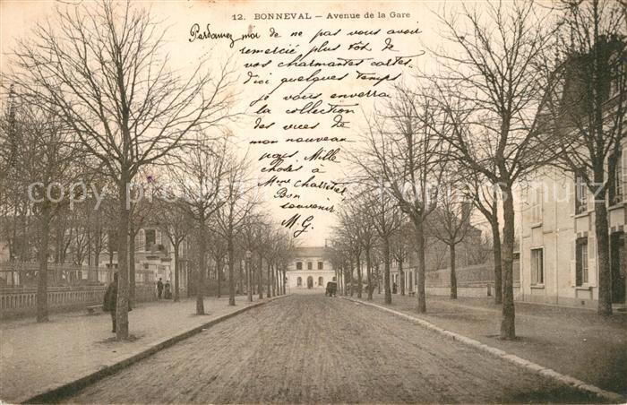Bonneval_d_Eure et Loir Avenue de la Gare Bonneval_d_Eure et Loir
