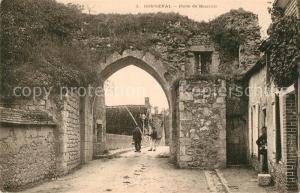 Bonneval_d_Eure et Loir Porte de Boisville Bonneval_d_Eure et Loir
