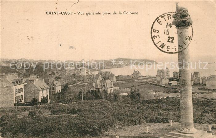 Saint Cast le Guildo Vue generale prise de la Colonne Saint Cast le Guildo