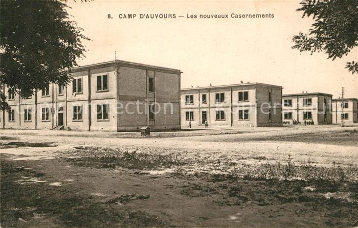 Le_Mans_Sarthe Camp d'Auvours Les nouveaux Casernements Le_Mans_Sarthe