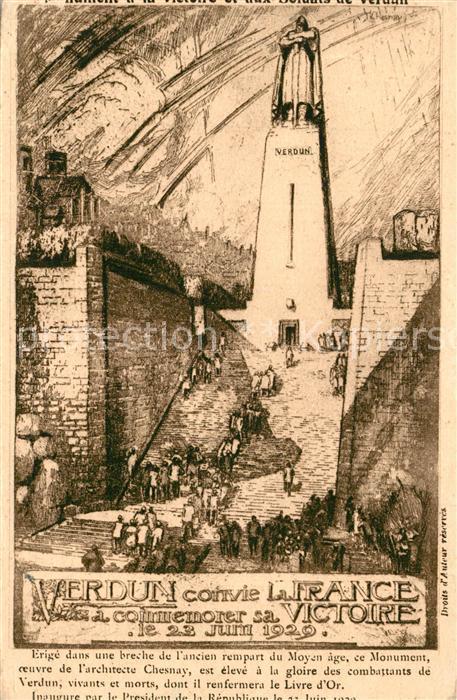 Verdun_Meuse Monument a la Victoire Crypte du Livre d Or Verdun Meuse