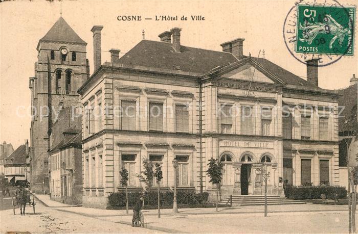 Cosne Cours sur Loire Hotel de Ville Cosne Cours sur Loire